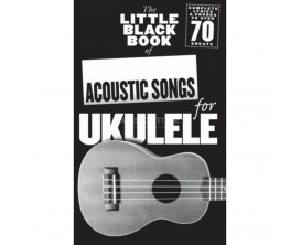 LIBRAIRIE - The Little Black Book of Acoustic Songs for Ukulele - Wise Publications