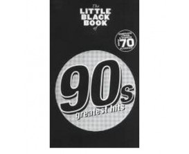 LIBRAIRIE - The Little Black Book of 90's Hits - Wise Publications