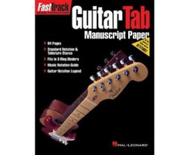 Fasttrack Guitar Tab - Cahier de tablatures 64 pages - Hal Leonard