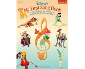 Disney's My First Song Book Vol. 2 (Easy Piano) - Hal Leonard