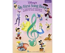 LIBRAIRIE - Disney's My First Song Book Vol. 3 (Easy Piano) - Hal Leonard