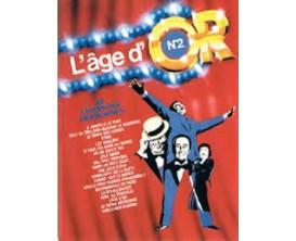 LIBRAIRIE - L'Age d'Or No 2 - 20 Chansons Françaises - Ed. Carisch