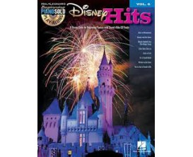 LIBRAIRIE - Play Along Disney Hits Vol. 6 (Beginning Piano Solos avec CD) - Hal Leonard