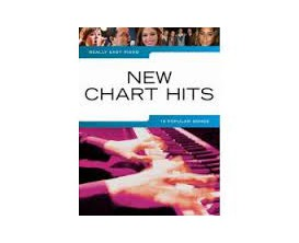 LIBRAIRIE - New Chart Hits 19 Popular Songs Really Easy Piano - Wise Publications