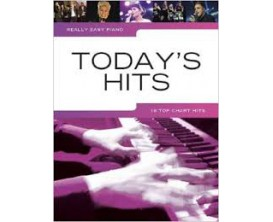 LIBRAIRIE - Today's Hits 18 Top Chart Hits Really Easy Piano - Wise Publications