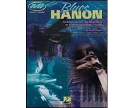LIBRAIRIE - Blues Hanon - 50 ex. for the beginning to professional blues pianiste - Hal Leonard