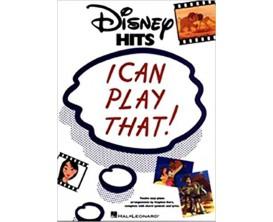 LIBRAIRIE - Disney Hits I Can Play That ! - Hal Leonard