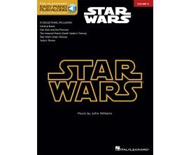 Easy Piano Play Along Volume 31 Star Wars - J. Williams - Hal Leonard