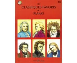 LIBRAIRIE - Les Classiques Favoris du Piano Vol 1B - Editions Lemoine
