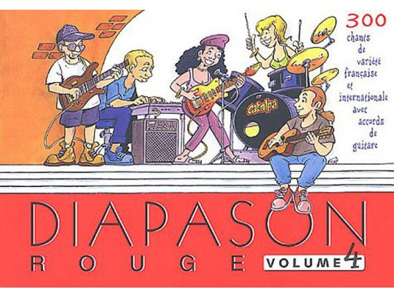LIBRAIRIE - Diapason Rouge Vol.4 - (Ed. Presses IDF)