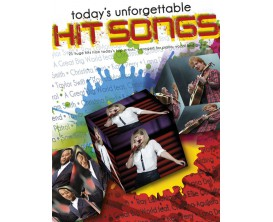 LIBRAIRIE - Today's Unforgettable Hits Songs (Piano Voix Guitare) - Ed. Wise