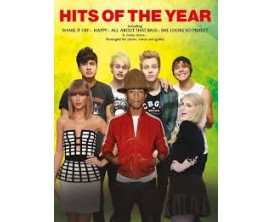 Hits of the Year Twenty Huge hit Songs arranged for Piano, voice and guitar - W. Publ.