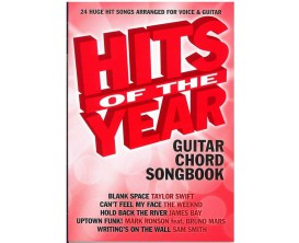 Hits of the Year Guitar Chord Songbook - Wise publications