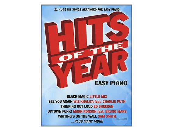 Hits of the Year Easy Piano - Wise publications