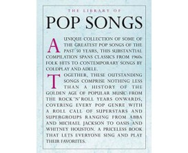 The Library of Pop Songs (Piano, voix, guitare) - Hal Leonard