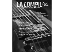 LIBRAIRIE - La Compil' No2 (Piano, Chant et Tablatures Guitare) - Aède Music