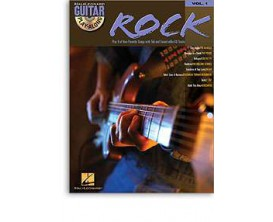 LIBRAIRIE - Guitar Play Along Rock Vol.1 avec CD (Ed. Hal Leonard)
