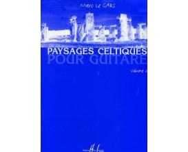 LIBRAIRIE - Paysages Celtiques Pour Guitare Vol.2, M. Le Gars - (Ed. Lemoine)