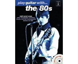LIBRAIRIE - Play Guitar with the 80s (Guitar tab edition) - Wise Publications