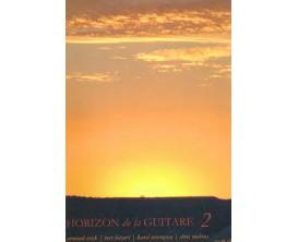 LIBRAIRIE - Horizons de la guitare Vol 2 - A. Coeck, B. Lietaert, K. Vercruysse, C. Ruebens