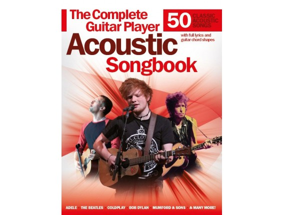 The Complete Guitar Player Acoustic Songbook (50 Classic Acoustic Songs) - Wise Publications