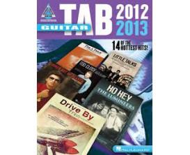 LIBRAIRIE - Guitar Tab 2012 - 2013 (Recorded Versions Guitar) - Hal Leonard