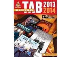 LIBRAIRIE - Guitar Tab 2013 - 2014 (Recorded Versions Guitar) - Hal Leonard