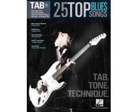 25 Top Blues Songs (Tab, Tone, Technique) - Hal Leonard