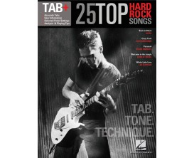 25 Top Hard Rock Songs (Tab. Tone. Technique) - Hal Leonard