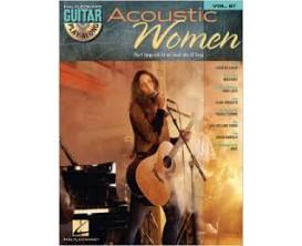 LIBRAIRIE - Guitar Play Along Vol. 87 Acoustic Women (CD inclus) - Hal Leonard