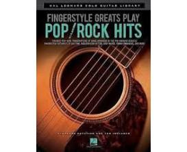 LIBRAIRIE - Fingerstyle Greats Play Pop/Rock Hits - Hal Leonard