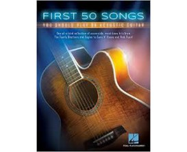 LIBRAIRIE - First 50 Songs - Hal Leonard