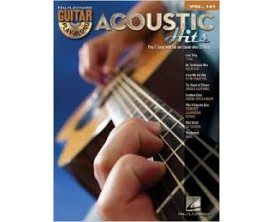 LIBRAIRIE - Guitar Play Along Vol. 141 Acoustic Hits (CD inclus) - Hal Leonard