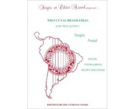 LIBRAIRIE - Tres Cenas Brasileiras pour 2 guitares - Sergio Assad - Ed. Lemoine