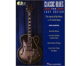 LIBRAIRIE - Classic Blues for Easy Guitar - The Spirit of the Blues in 28 Great Tunes - Hal Leonard