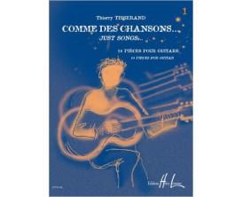 LIBRAIRIE - Comme des chansons Vol. 1 - Thierry Tisserand - Editions Lemoine
