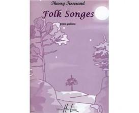 LIBRAIRIE - Folk Songs pour Guitare Thierry Tisserand - Ed. Lemoine
