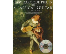 Easy Baroque for Classical Guitar (Avec CD) - J. Willard - Hal Leonard