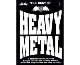 The Best of Heavy Metal - 13 Terrifying Metal Classics Arranged for Guitar Tab - Wise Publications