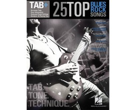 25 Top Blues Rock Songs (Tab, Tone, Technique) - Hal Leonard