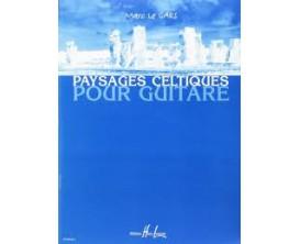 LIBRAIRIE - Paysages Celtiques Pour Guitare Vol.1, M. Le Gars - (Ed. Lemoine)
