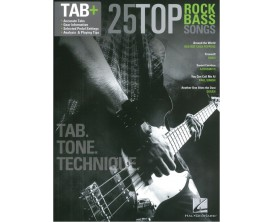 25 Top Rock Bass Songs (Tabs) - Hal Leonard