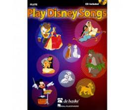 LIBRAIRIE - Play Disney Songs (Flute - avec CD) - De Haske, Hal Leonard