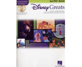 Disney Greats Instrumental Play Along (Sax Alto) - Hal Leonard