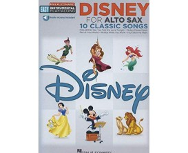 Disney for Alto Sax (10 Classic Songs) - Hal Leonard
