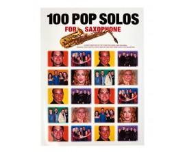 100 Pop Solos for Saxophone - Wise Publications