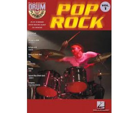 LIBRAIRIE - Drums Play Along Pop Rock Vol. 1 (CD inclus) - Hal Leonard