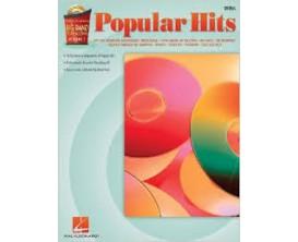 LIBRAIRIE - Popular Hits Drums (Big Band Play Along Vol. 2 CD inclus) - Hal Leonard