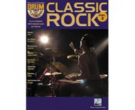 LIBRAIRIE - Drum Play Along Classic Rock Vol. 2 (CD inclus) - Hal Leonard