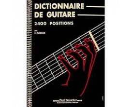 LIBRAIRIE - Dictionnaire De Guitare - 2400 Positions d'accord - F.Chierici